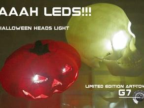 Glad-Halloween Leds Headlight