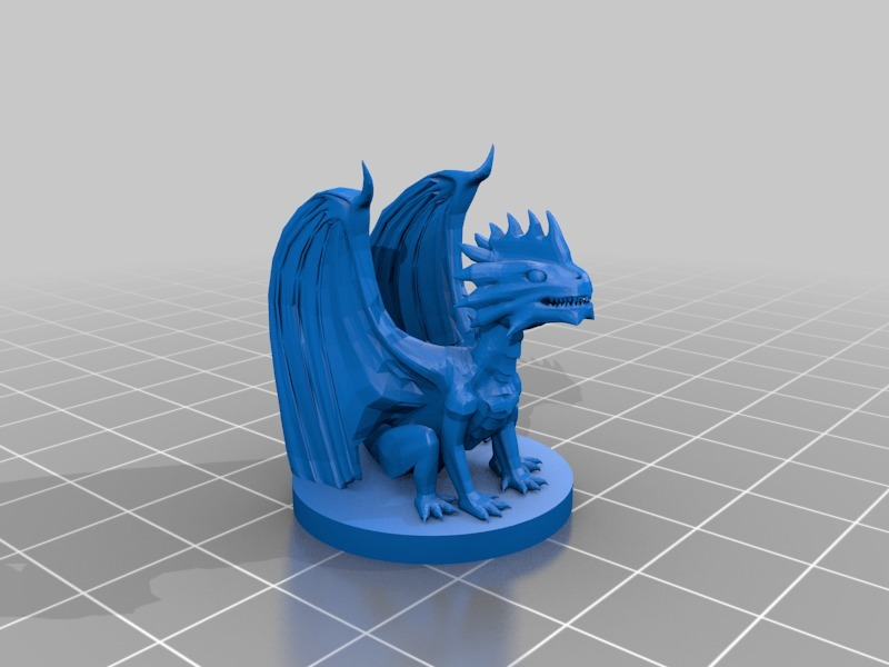 Silver Dragon by mz4250 - Thingiverse