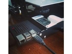 Ender 3 Raspberry Pi 3 Mounting Case, No Hardware
