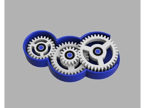 Parametric Bearing Gear Toy