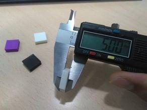 Cubo de calibración 15x15x5