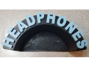 Headphones Wall Mount (Remix)