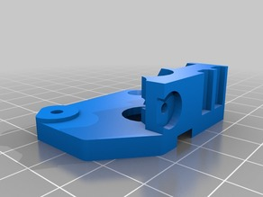 wanhao flex extruder plate for micro swiss cnc lever