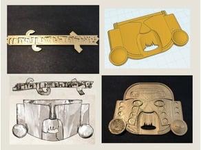 Call of Cthulhu - Masks of Nyarlathotep - Peru Props