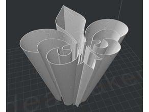 Fleur-De-Lis Vase