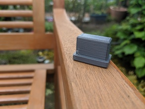 Garden chair foot