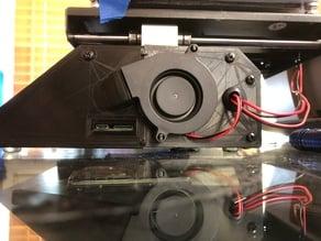 mp select mini 50mm blower fan bed rewire