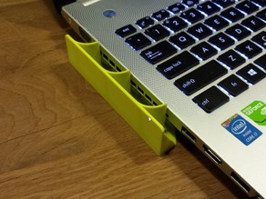 lefthand airflow redirect laptop thing