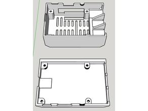 Raspberry Pi Case - HifiBerry Amp+