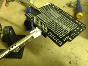 Header Pin Soldering Jig
