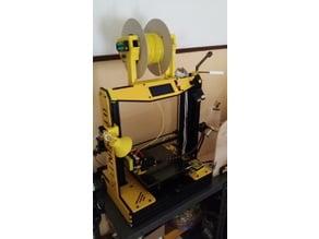 Prusa i4 Bobina (filament) Holder with buzzer