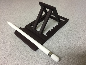 iPad Pro Stand with Pencil Holder