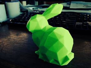 Low Poly Stanford Bunny