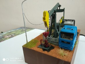 Oil pump jack (motorized)