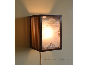 Andon (行灯) - traditional Japanese style lamp