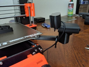 Prusa MK3 Web Cam Bracket with Tripod Mount
