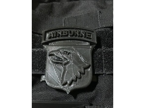 101st Airborne Patch Molle