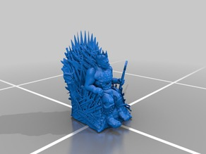 Ruler of the Iron Throne - Iron Throne Remix - Miniature