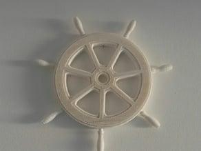 Timão (Roda de Leme) Sete Malaguetas