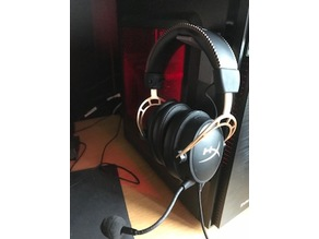Magnetic headset holder!