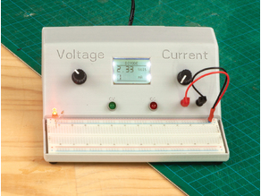 Voltage and Current Limiting Power Supply for Breadboard Prototyping