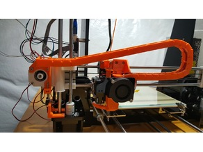 Anet A8 X Axis Cable Chain with Z Stop Adjustment