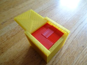Puzzle cube with case!