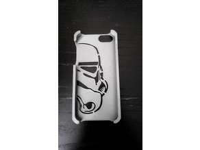 StormTrooper Iphone 5 Case single extruder