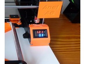 Anet A6 voltmetre ampermetre foot case