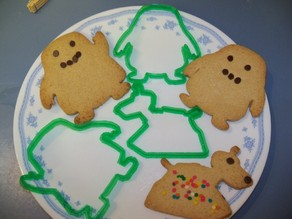 Dr. Who Creature cookie cutters