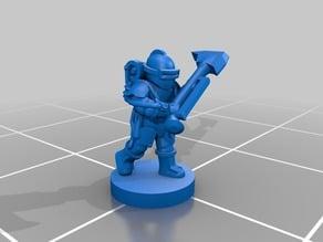 Solar Commandos with axes