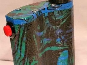 Flask Mod Dual 18650 Vape
