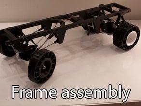 Printed truck V2: Frame