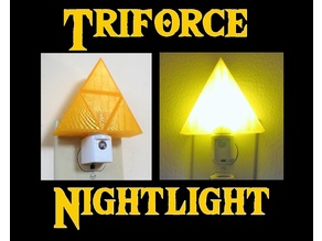Zelda Triforce Nightlight