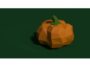 Pumpkin | Dual Color for both Single and Dual extruders