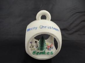 Parametric Christmas Scene Ornament