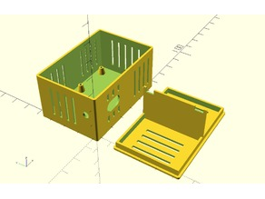 Box for Wemos D1 R2 Dual Base Projects