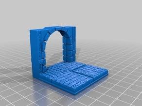 OpenForge 2.0 Cut Tudor Doorway