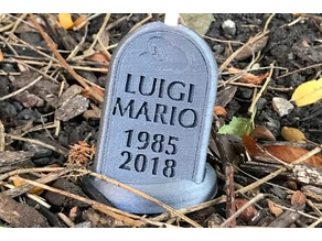 Luigi's Tombstone (Super Smash Bros. Direct 8/8/2018)