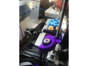 Filament side feeder cr10