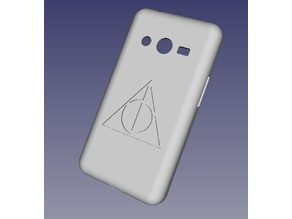 Galaxy Ace 4 Harry Potter Deathly Hallows