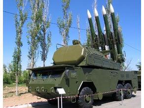 MZKT-6922 TELAR Buk-M2EK SAM system 15mm ish