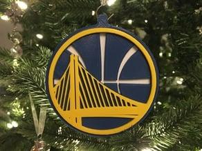 Multi Material Golden State Warriors Logo