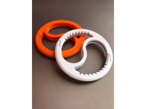 Carabiner ying yang tool