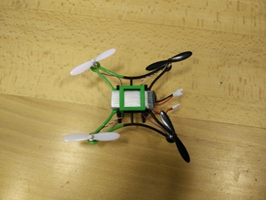 Hubsan X4 7mm lightframe with FPV camholder