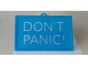 Don't Panic - Starman's Roadster