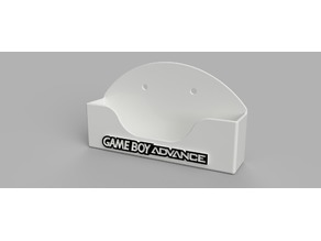Gameboy Advance Wall Mount
