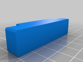 Magnetic holddown for lasercutter for 4mm/5mm thick material