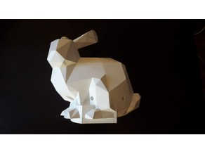 Stanford Bunny Low Poly  and THYMIO