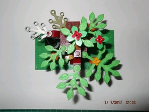 Lego© compatible Leaves